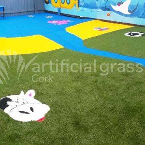 Artificial Grass Preschool Cork